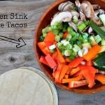 Kitchen Sink Veggie Tacos