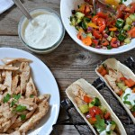 Za'atar Chicken Tacos