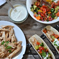 Za'atar Chicken Tacos | mountainmamacooks.com