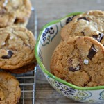 Brown Butter Espresso Chocolate Chunk Cookies