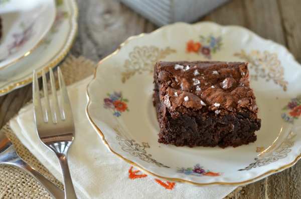Fudgy Gluten Free Brownies | mountainmamacooks.com