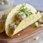 Lemon Caper Tuna Salad Tacos