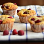 Fresh Raspberry Muffins