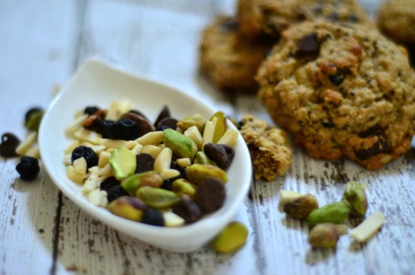 Trail Mix Cookies | mountainmamacooks.com #glutenfree #dairyfree