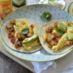 Egg, Potato & Pancetta Breakfast Tacos