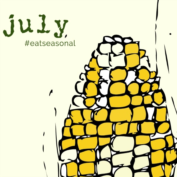 Eat Seasonal Guide July | mountainmamacooks.com