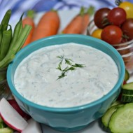 Garlic Herb Dip | mountainmamacooks.com