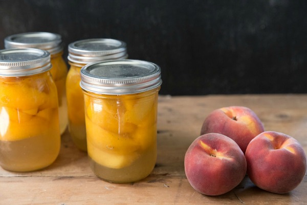 No pectin peach raspberry jam recipe mountain mama cooks for Peach preserves no pectin
