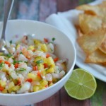 Pineapple-Shrimp Salsa + Ultimate Tailgate Giveaway