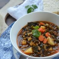 Sausage, Kale and Lentil Soup   mountainmamacooks.com