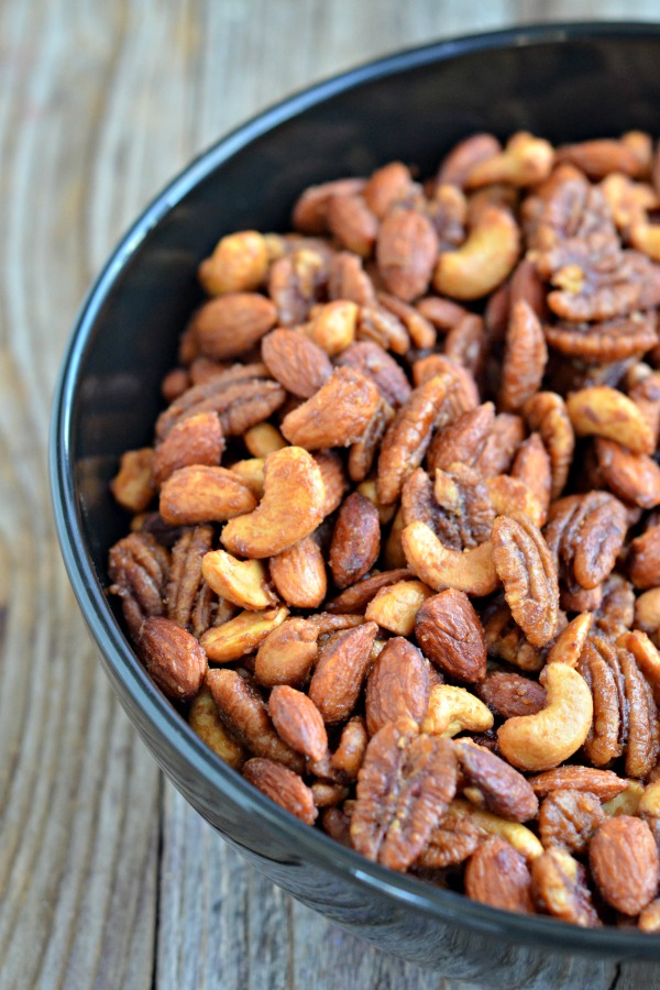... spicy and sweet. In two words, these Whisky Roasted Nuts are