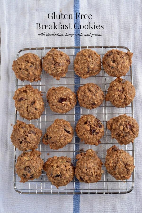 Gluten Free Breakfast Cookies | mountainmamacooks.com