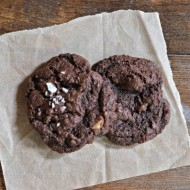 Chocolate Chocolate Chip Cookie | mountainmamacooks.com