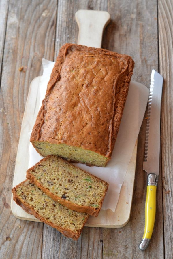 Banana Zucchini Bread | mountainmamacooks.com