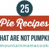 Pie Receipes feature