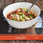 Smokey and Sweet Turkey Chili {Maple Cookbook Review & Giveaway}