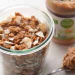 Small Batch Peanut Butter Granola