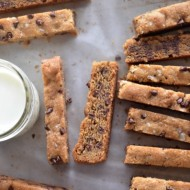 Chocolate Chip Cookie Sticks | mountainmamacooks.com