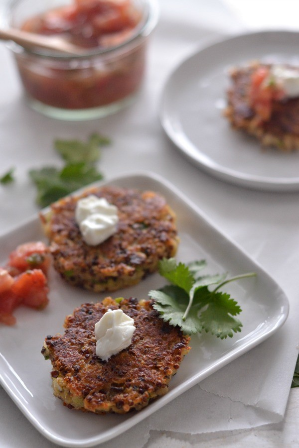 All Recipes Quinoa Cakes With Parmesan