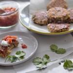 Cheddar Scallion Quinoa Cakes
