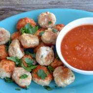 Simple Baked Turkey Meatballs | mountainmamacooks.com