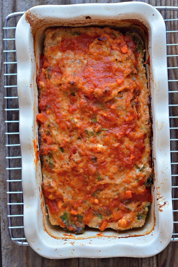 Greek Turkey Meatloaf | mountainmamacooks.com