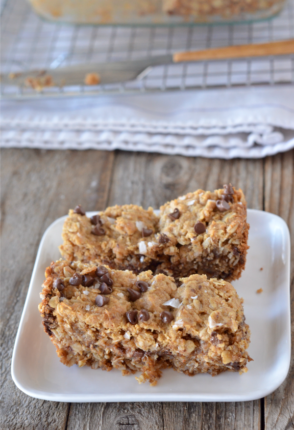 Chewy Peanut Butter Granola Bars | mountainmamacooks.com