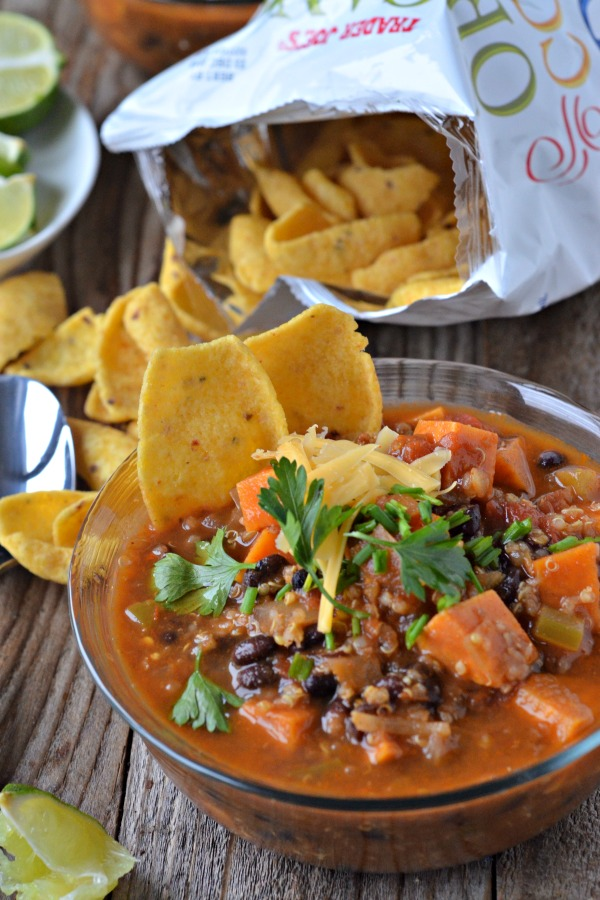 Sweet Potato and Black Bean Chili with Quinoa - Mountain ...