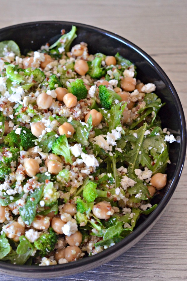 Spinach And Feta Quinoa Salad Recipe — Dishmaps