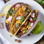 Slow Cooker Turkey Lentil Tacos