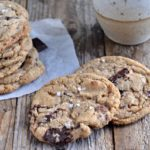 Whole Wheat & Almond Flour Chocolate Chunk Cookies