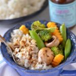 Coconut Rice and Steamed Veggies