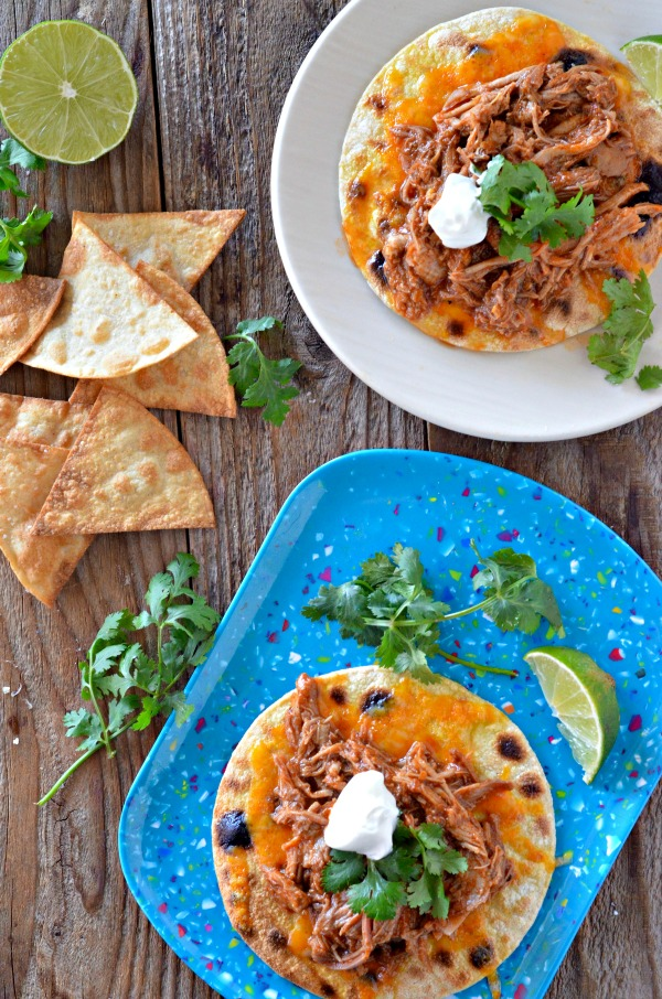 """<img src=""""http://www.mountainmamacooks.com/wp-content/uploads/2016/10/slow-cooker-pork-tacos-dixie-crystals-2.jpg"""" alt=""""Slow Cooker Sweet Pulled Pork Tacos 