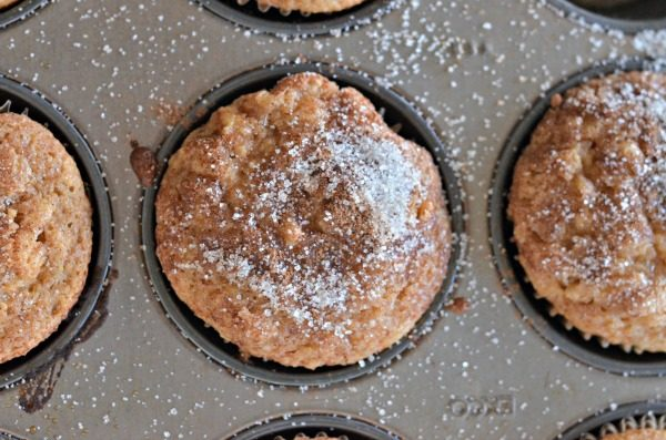 Healthier Apple Muffins | mountainmamacooks.com
