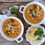 Thai Curry Cauliflower Soup