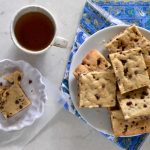 High Altitude Chocolate Chip Cookie Bars