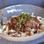 Slow Cooker Cranberry Onion Pot Roast