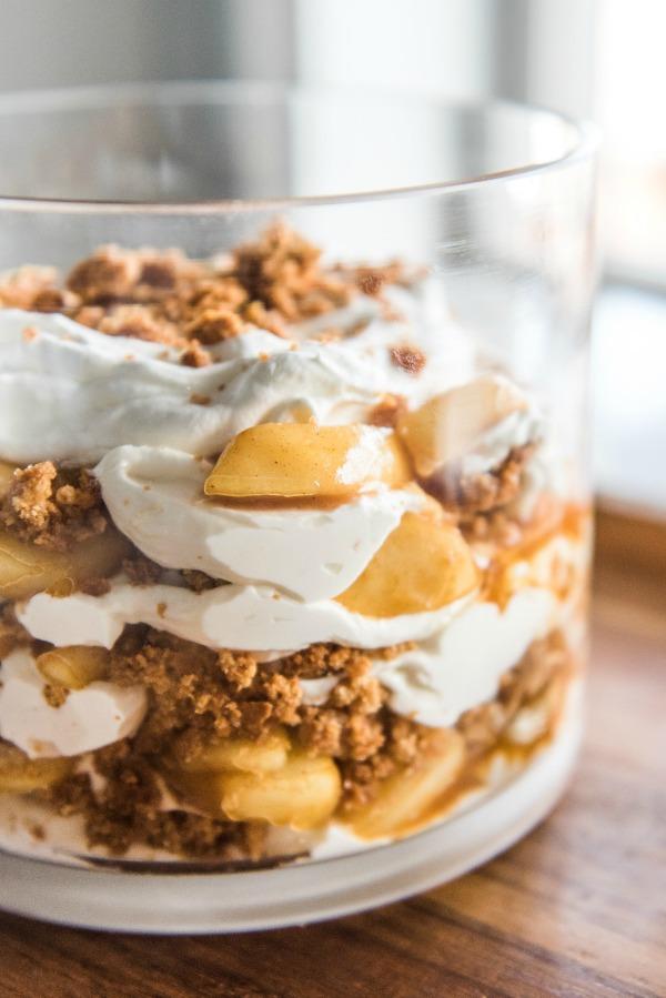 Apple Pie Trifle | www.mountainmamacooks.com