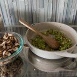 Mushroom Brioche Stuffing