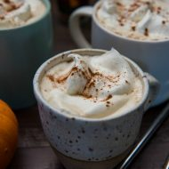 Slow Cooker Pumpkin Spice Latte | www.mountainmamacooks.com