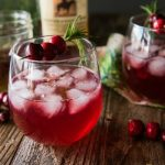Cranberry Cinnamon Whiskey Cocktail
