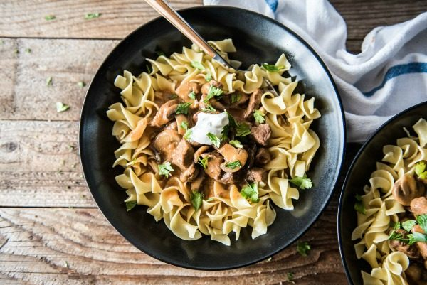 Instant Pot Beef Stroganoff | www.mountainmamacooks.com